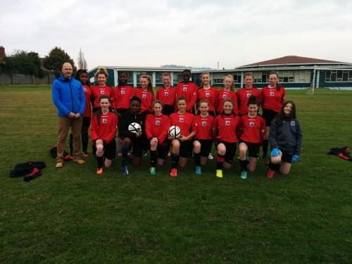 u14 girls soccer
