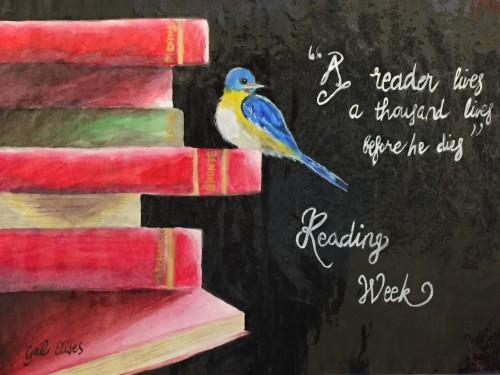 Reading Week 16 poster