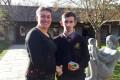 Ciaran Beahan and Principal Ms Diane Birnie